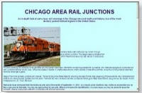 Chicagoland Rail Junctions